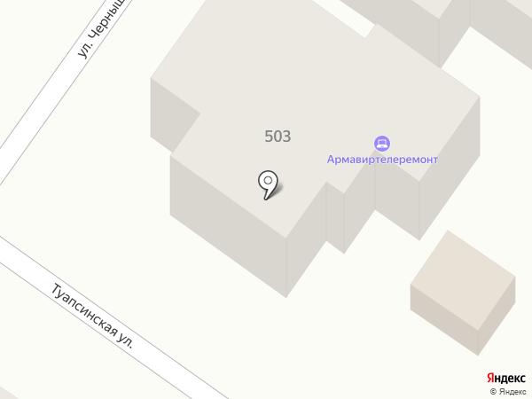Телемастерская на карте Армавира