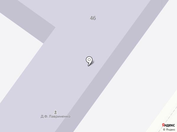 Средняя общеобразовательная школа №23 на карте Армавира