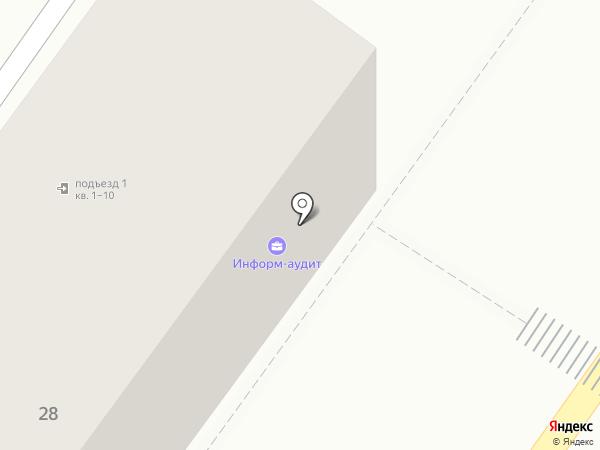 Информ-Аудит на карте Армавира