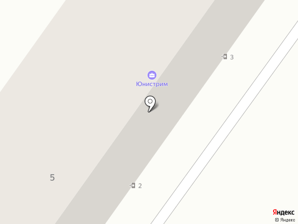 Авангард на карте Армавира
