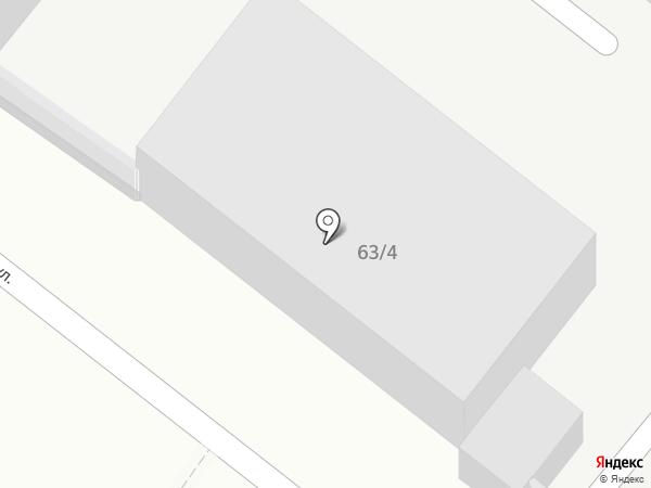 Юг на карте Армавира