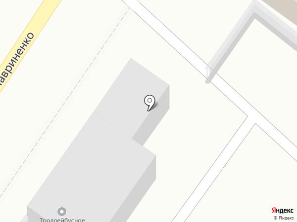 Троллейбусное управление, МУП на карте Армавира