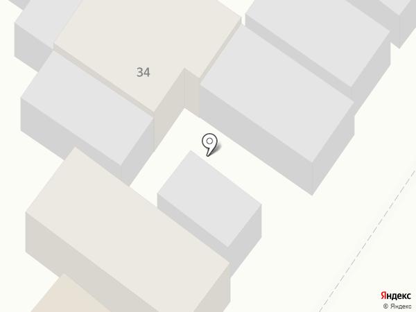 Автомастерская на карте Армавира