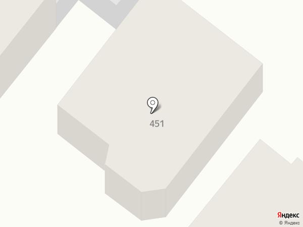 ЮгЖилСтрой на карте Армавира