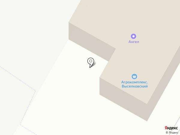 Агрокомплекс на карте Прикубанского