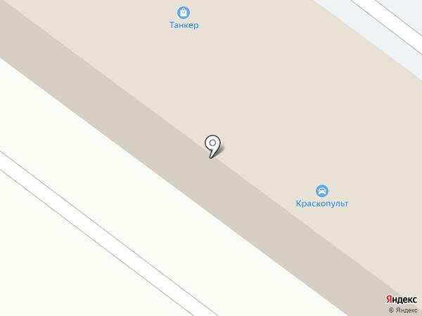 Каневской на карте Армавира
