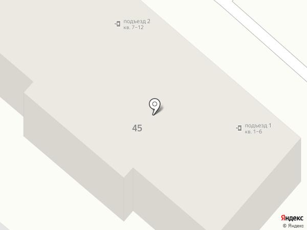 2-й Кубанский переулок на карте Армавира