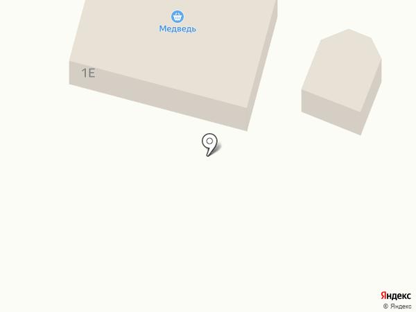 Продуктовый магазин на карте Красносвободного