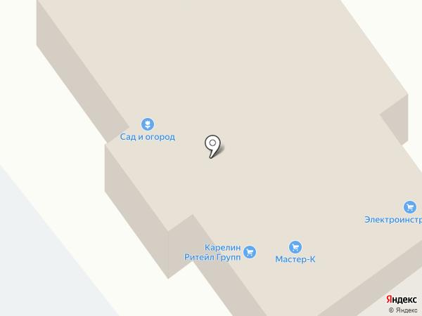 Алгоритм на карте Тамбова