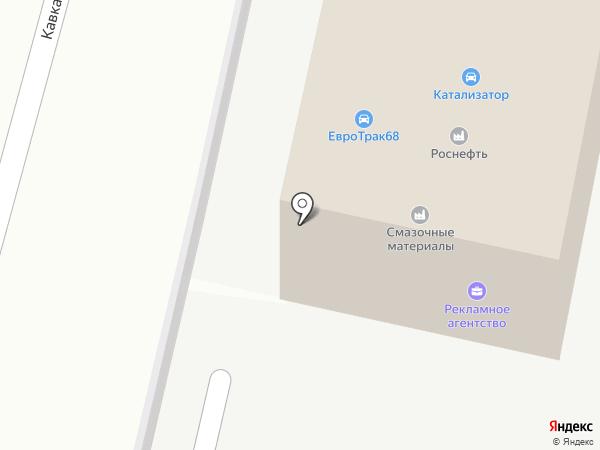 АвтоАльянс на карте Тамбова