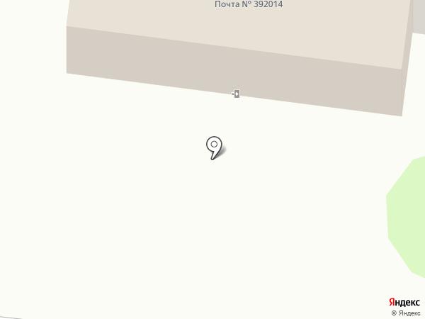Отделение почтовой связи №14 на карте Тамбова