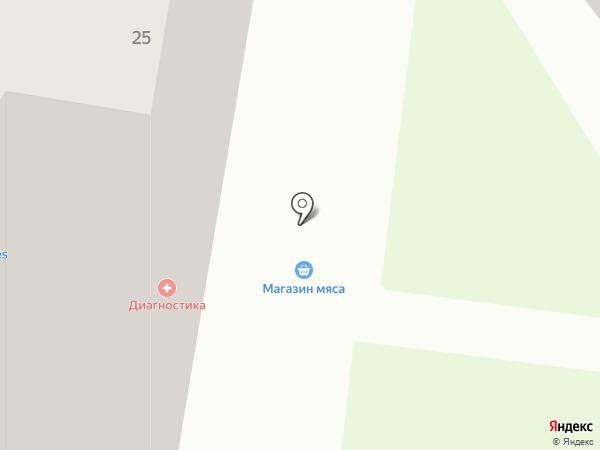 Медицинская лабораторная диагностика на карте Тамбова