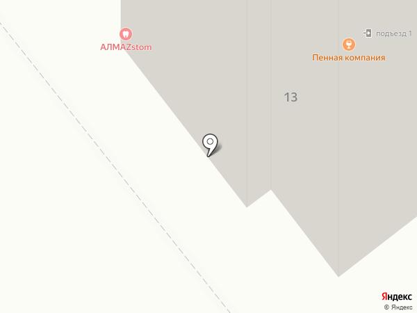 Тамбовриэлт на карте Тамбова