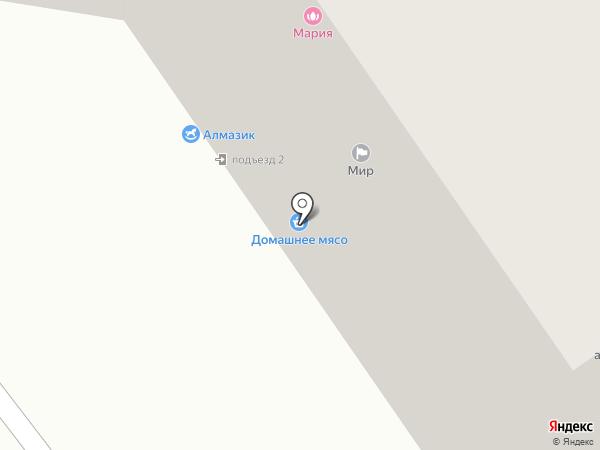 Волконская на карте Тамбова