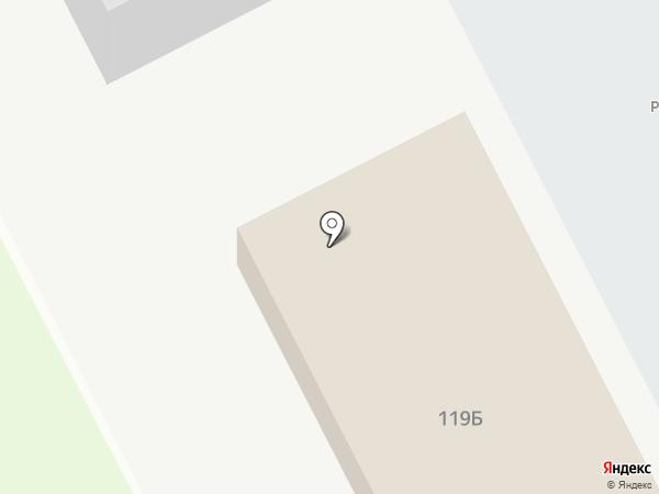 Магазин автозапчастей на карте Тамбова