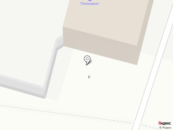 Пакмаркет на карте Тамбова