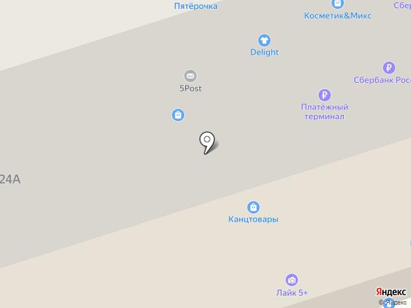 Покупка за минутку на карте Тамбова