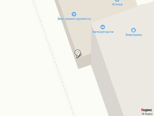 Магазин сантехники, электрики и электроинструмента на карте Тамбова