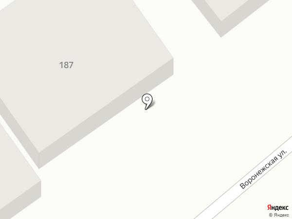 АлМа на карте Тамбова