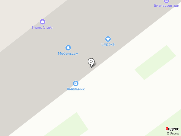 Мебельсам на карте Тамбова