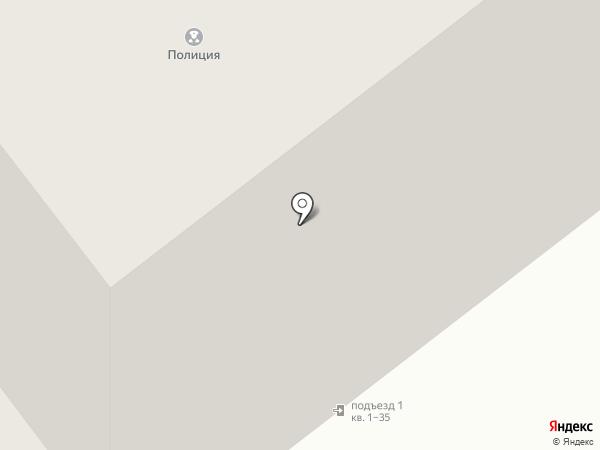 Участковый пункт полиции Октябрьского района на карте Тамбова