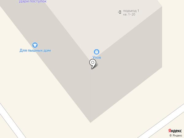 Улов на карте Тамбова