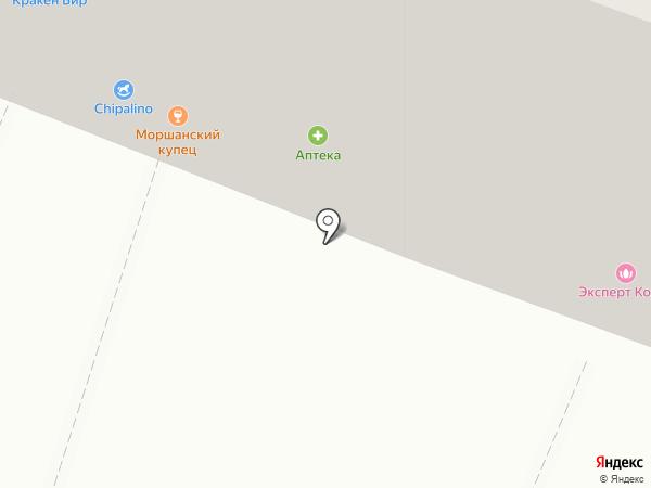 Молочная торговля Бондарских ферм на карте Тамбова