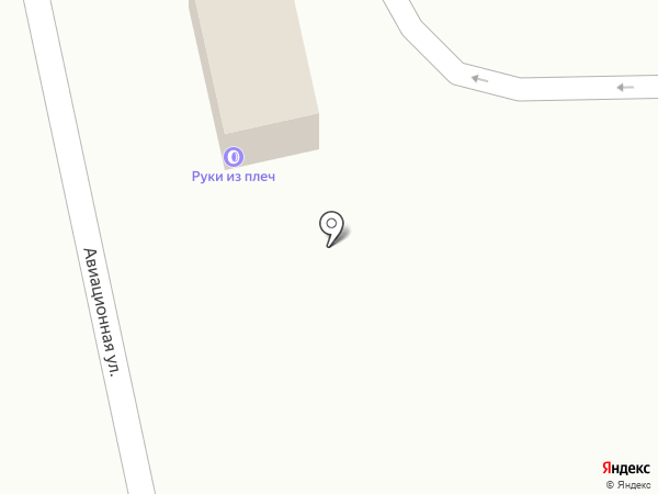 Руки из плеч на карте Тамбова