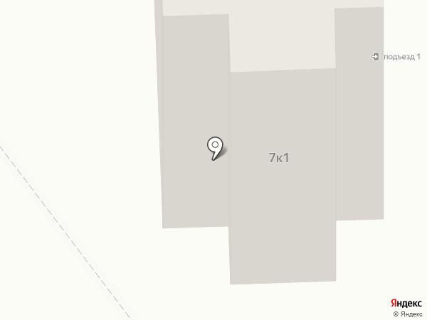 Неженка на карте Тамбова