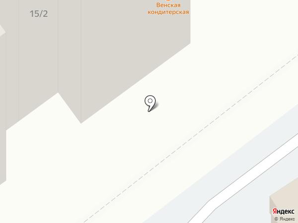 Венская кондитерская на карте Тамбова