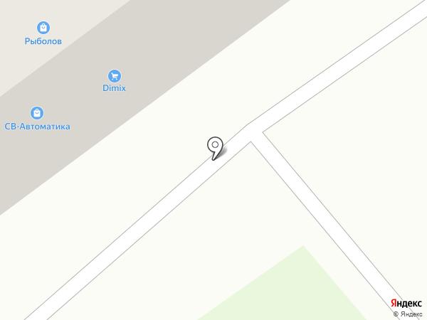 Очаг на карте Тамбова
