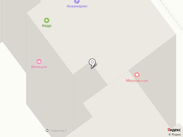 Кедр на карте Тамбова