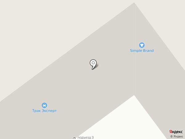 Трак Эксперт на карте Тамбова