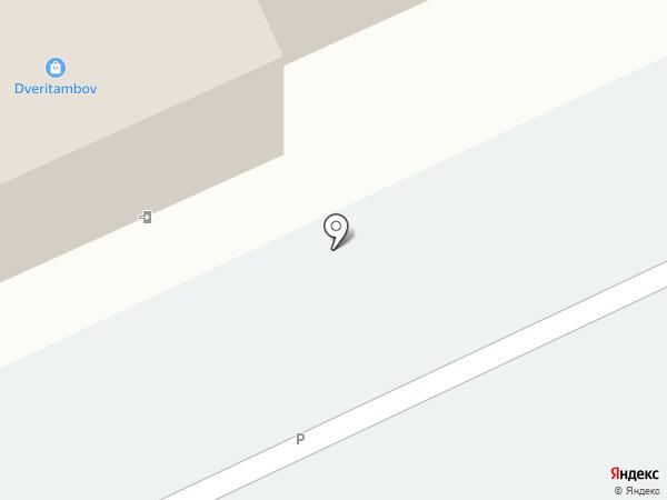 Винт на карте Тамбова
