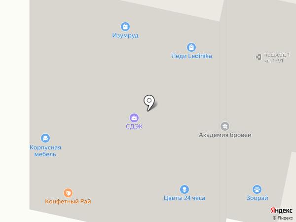 Эстель на карте Тамбова