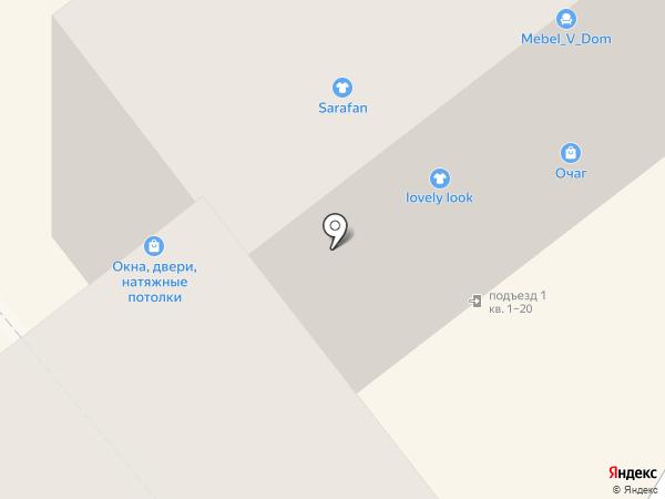 Центр на карте Тамбова