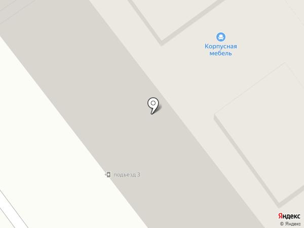 Деловой партнер на карте Тамбова