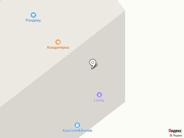 Кондитерская на карте Тамбова