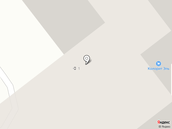 Колорит Эль на карте Тамбова