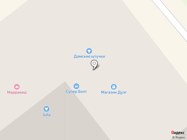 Грифель на карте Тамбова