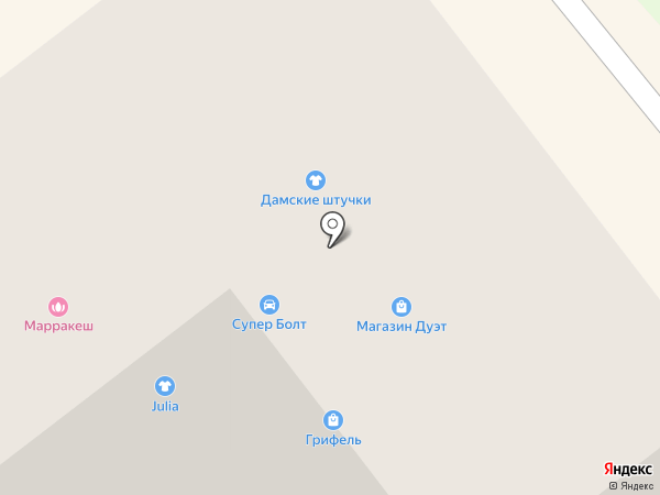 Дамские штучки на карте Тамбова