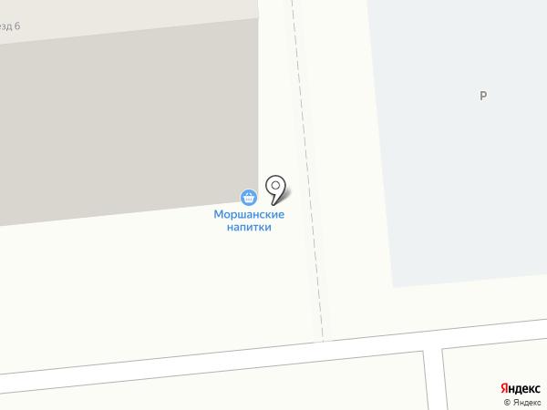 Каприз на карте Тамбова