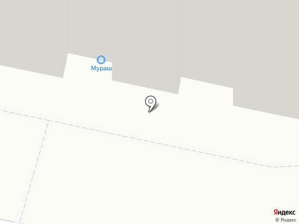 Модная строчка на карте Тамбова