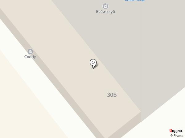 Крестики-нолики на карте Тамбова