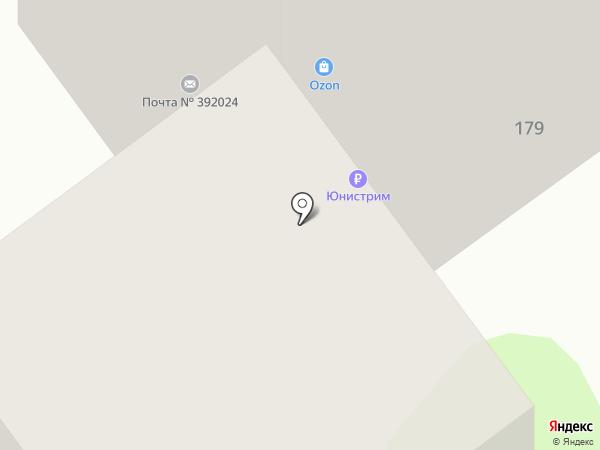 Отделение почтовой связи №24 на карте Тамбова
