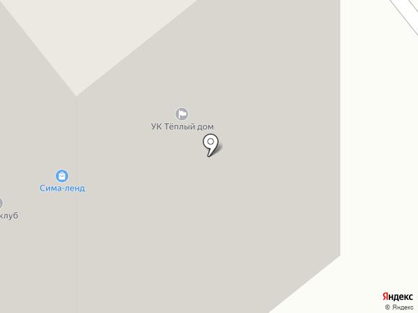 Теплый дом на карте Тамбова