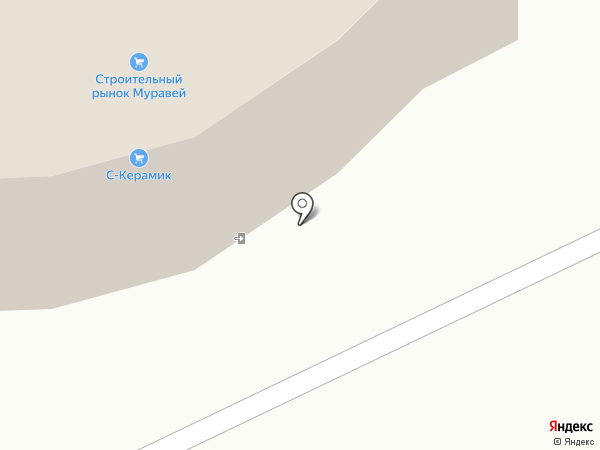 Магазин строительных и отделочных материалов на карте Тамбова