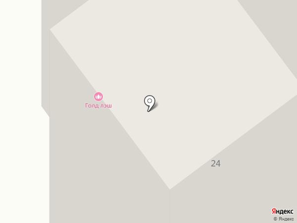 Тепло стен на карте Тамбова