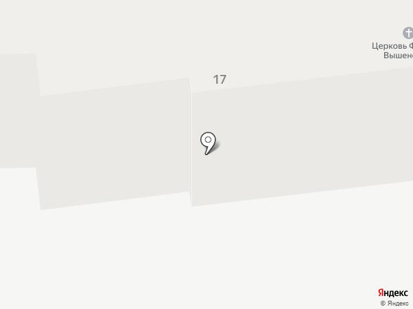 Храм святителя Феофана Затворника Вышенского на карте Тамбова