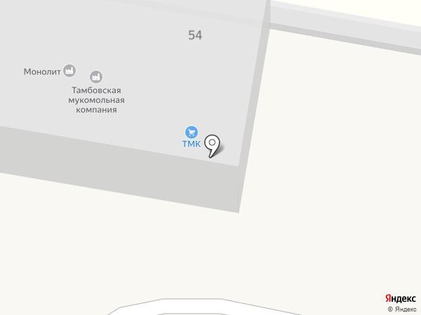 Монолит на карте Строителя